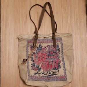 Lucky Brand canvas bag